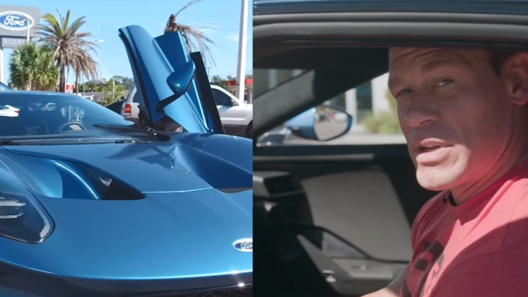 Ford Is Allegedly Suing John Cena For Selling His Rare 2017 Ford GT
