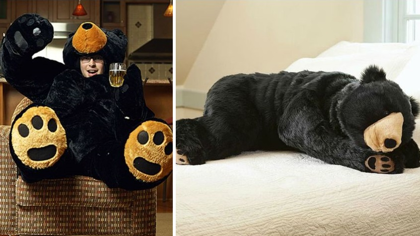 Giant Teddy Bear Sleeping Bags Exist For The Perfect Nap