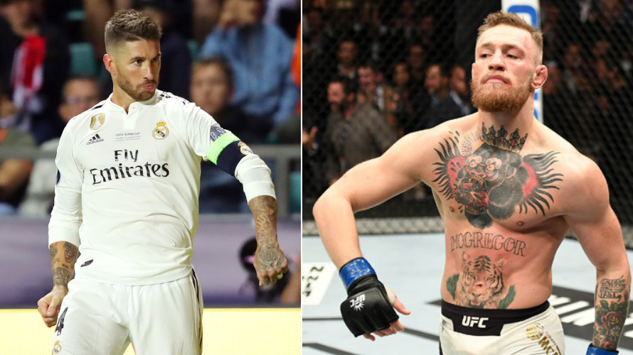 Sergio Ramos Channels Inner Conor McGregor, Does The Billi Strut