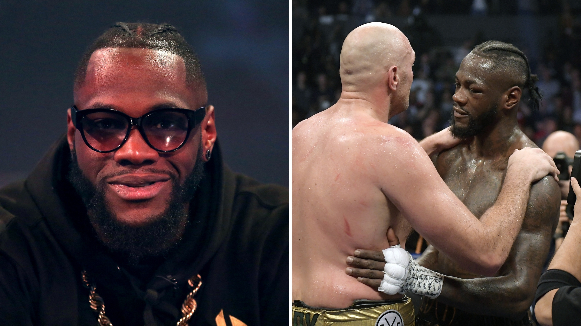 Deontay Wilder Reveals What Tyson Fury Told Him After Their Fight