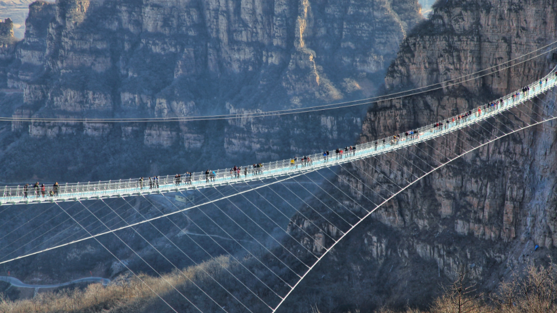 ​The World's Longest Glass Bridge Opens In China – And It's 755 Ft High