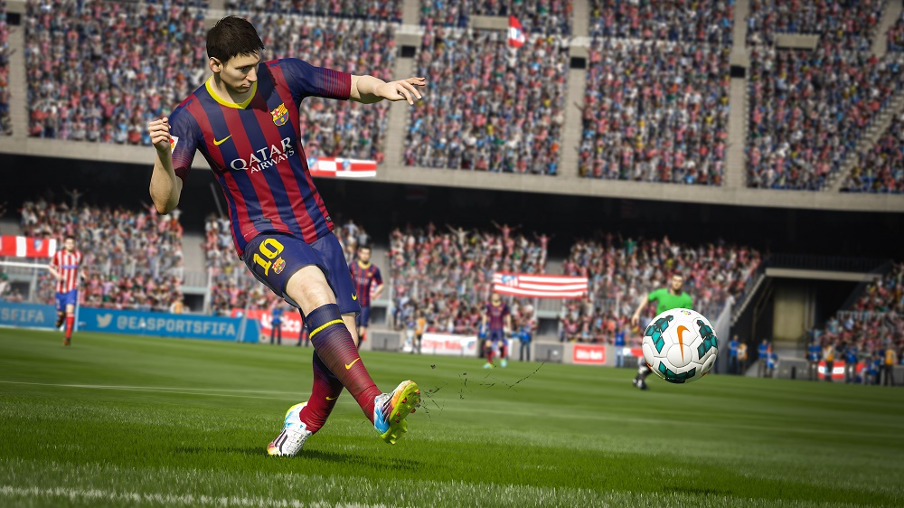 Messi will look better than ever in FIFA 20 Credit: EA