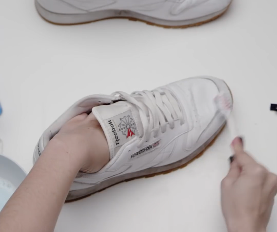 How To Make Your Trainers White Again