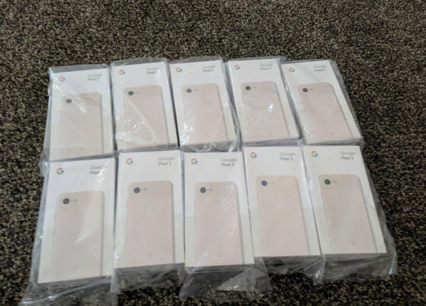 The disgruntled customer said he'd give the phones back once he received a refund. Credit: Reddit