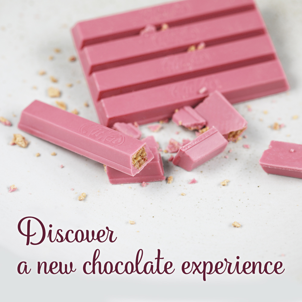 New Naturally-Pink Chocolate KitKat Launches In The UK