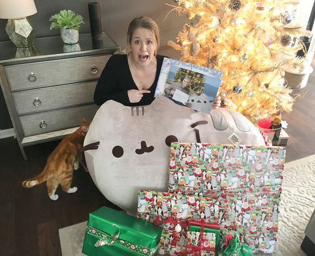 Bill Gates Plays Secret Santa, Sends Giant Plush Cat, Charity Donations