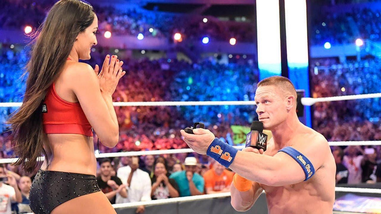 John Cena proposing