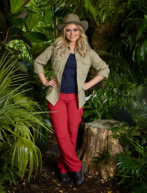 'Inbetweeners' star Emily Atack has not ruled out finding love in the jungle. Credit: ITV