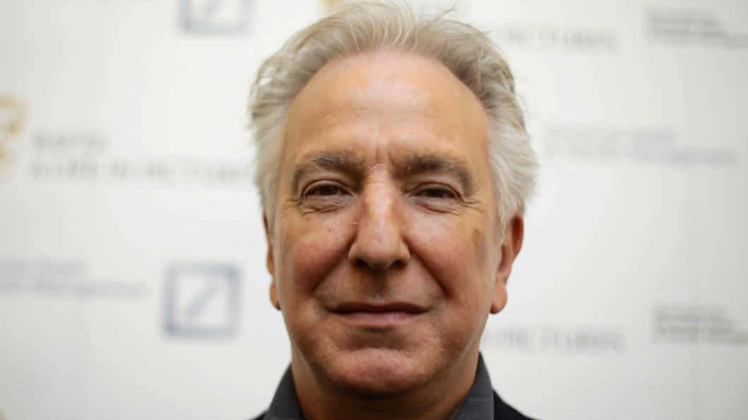 ​Alan Rickman Named The Greatest English Actor Of All Time