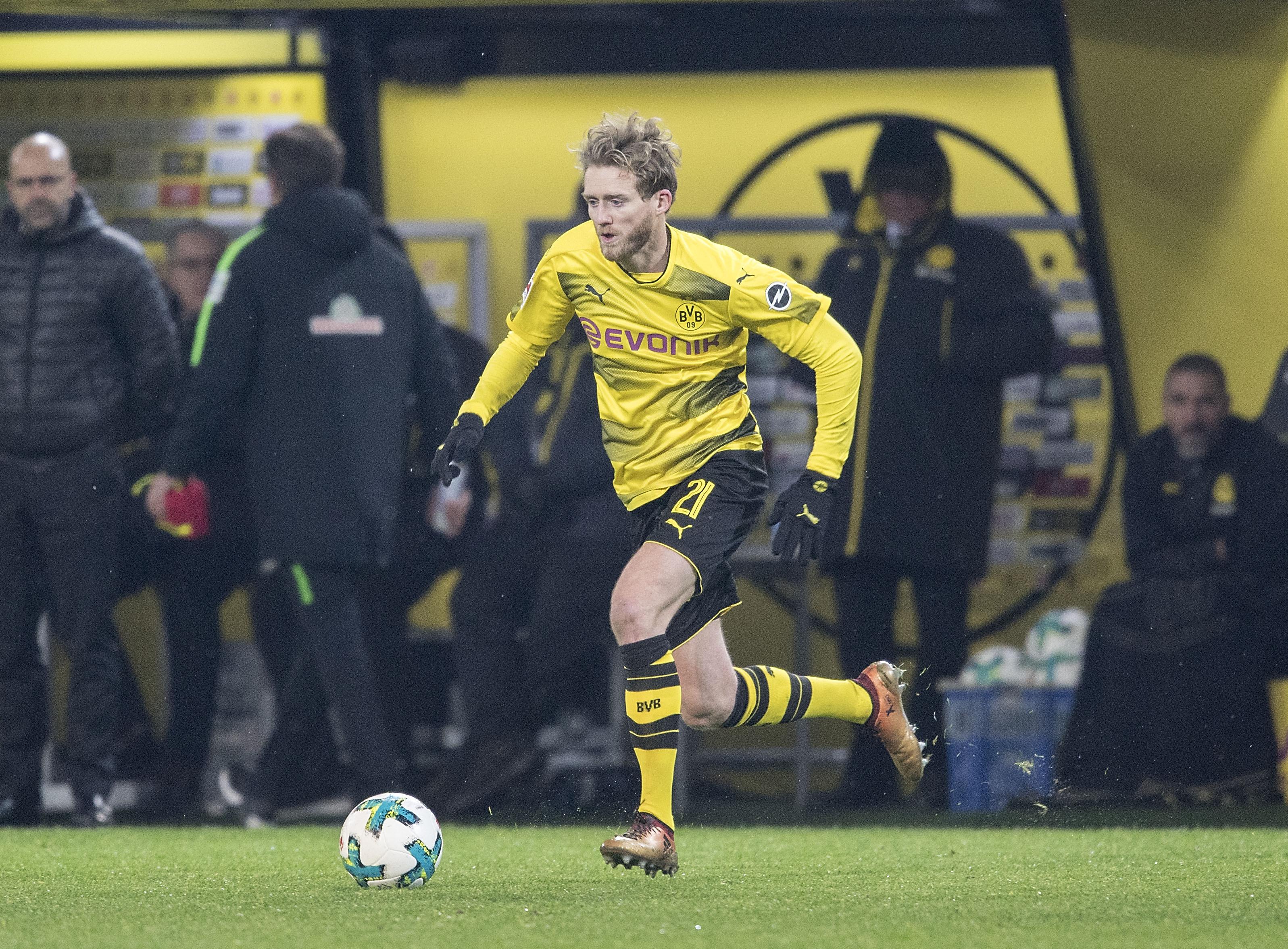 Dortmund's Schurrle. Image: PA