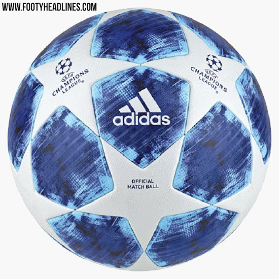 391af587501 The 2018 19 Champions League Ball Is Blue And It s Just Plain Wrong ...
