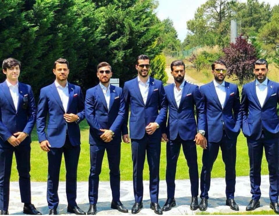 Iran's World Cup squad.