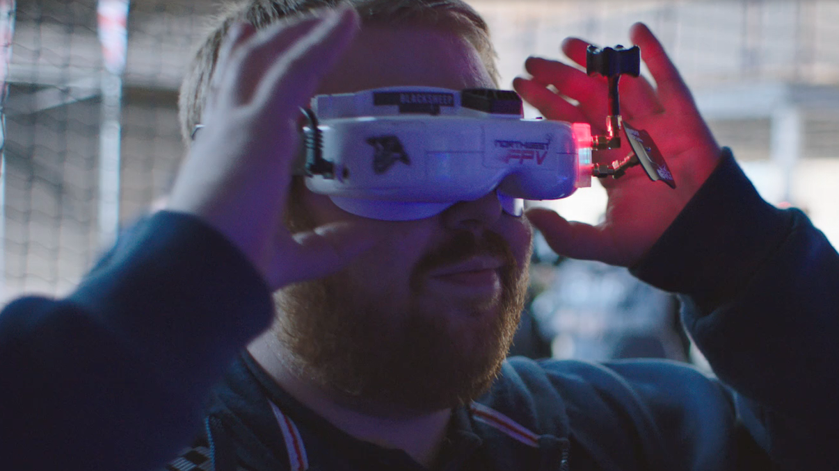 How Absolutely Incredible Does Drone Racing Look?
