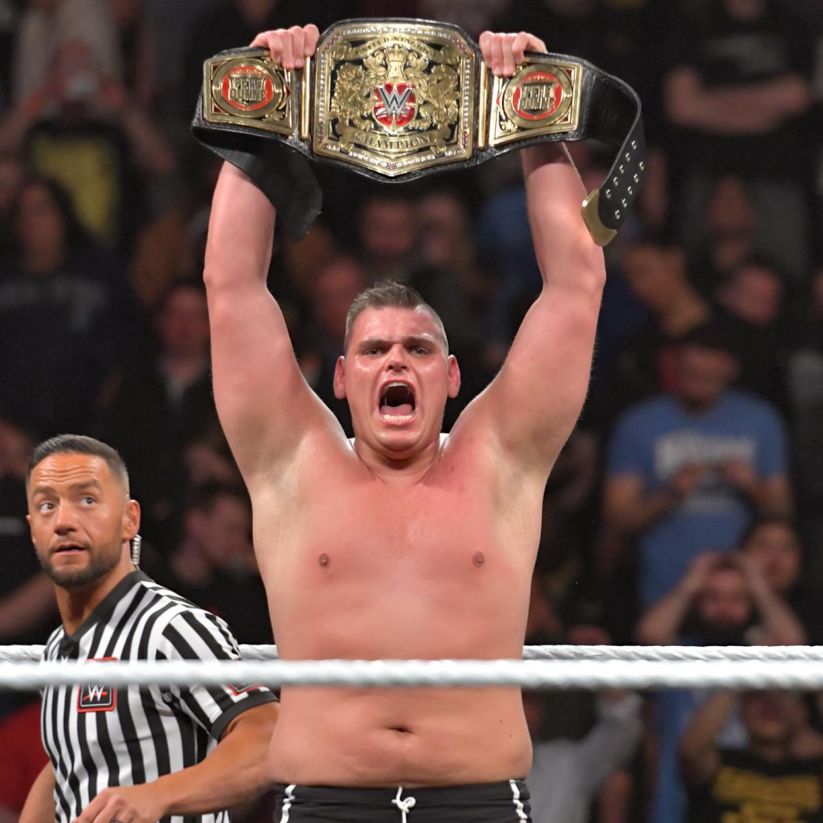 Walter beat Pete Dunne last month. Image: WWE