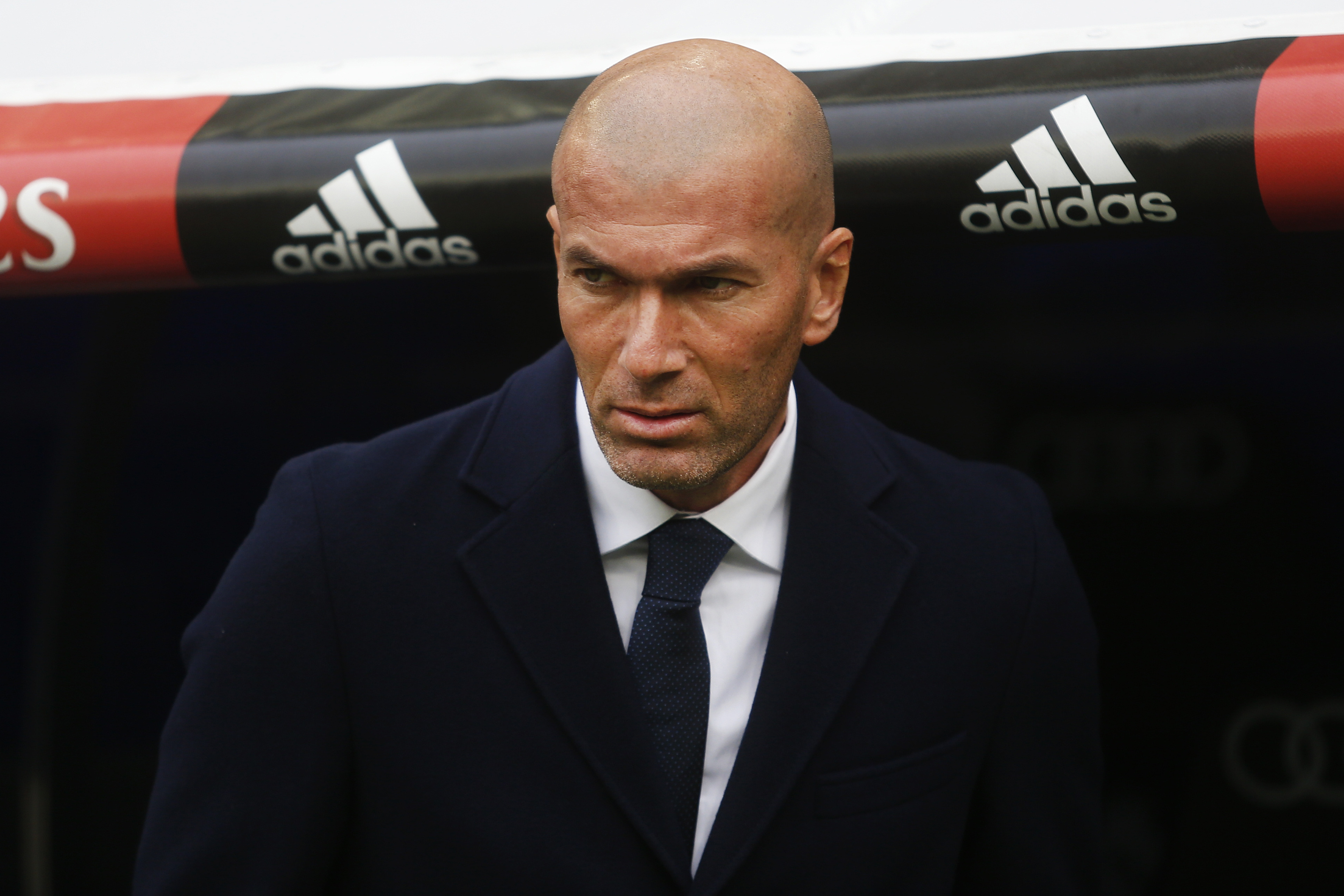 Zidane feels disappointed after the draw against Levante