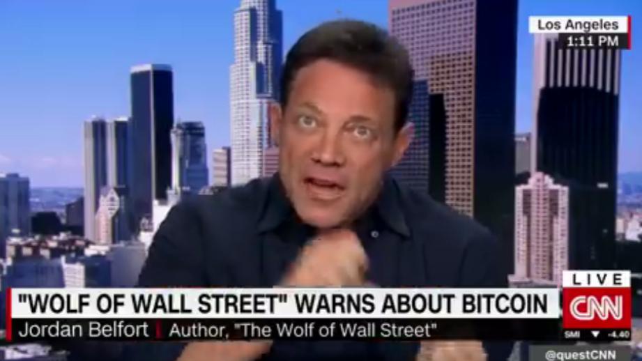 'Wolf Of Wall Street' Jordan Belfort Calls Bitcoin A 'Scam'