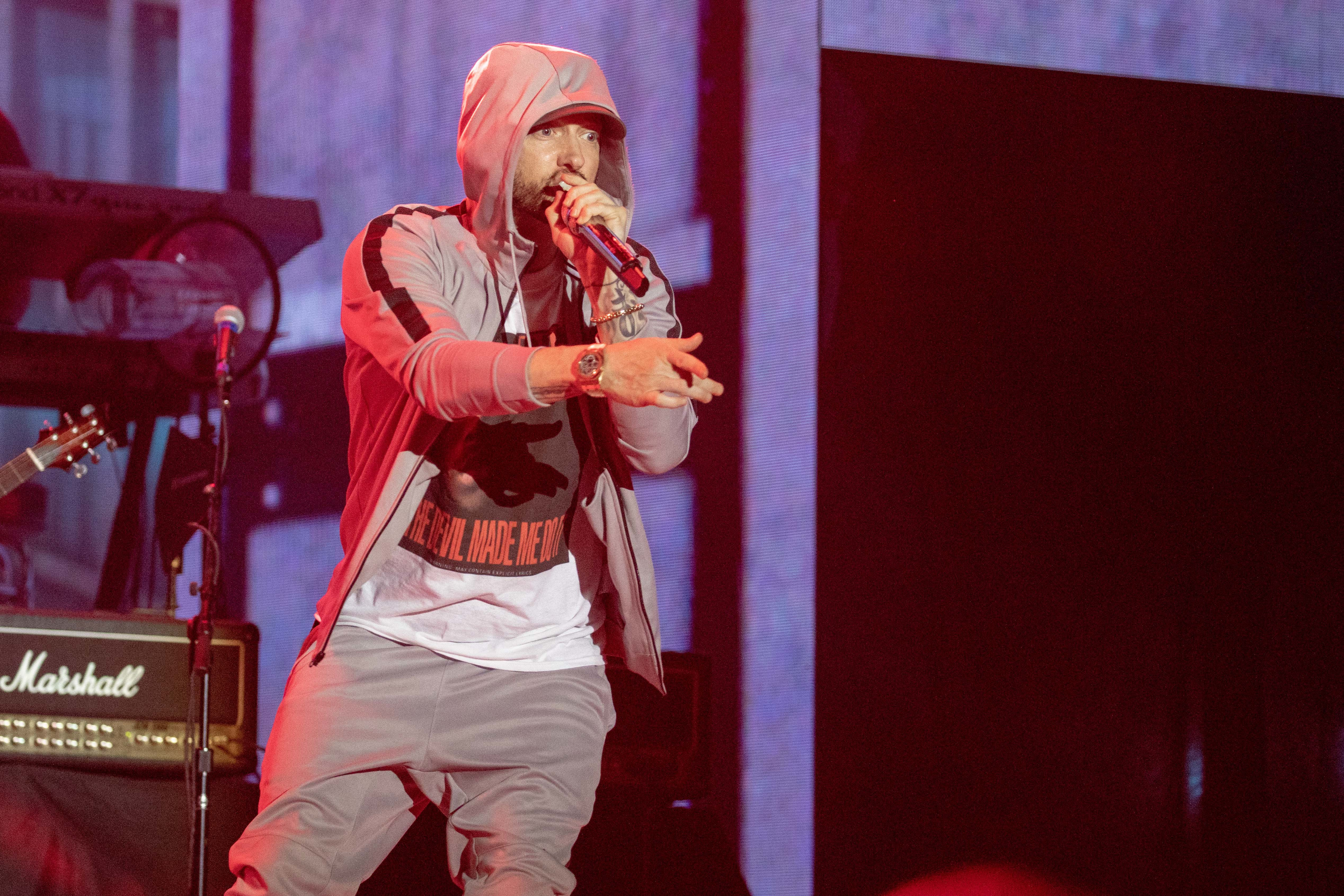 Eminem will no doubt be pleased to hear that Bieber doesn't reckon he understands new rap. Credit: PA