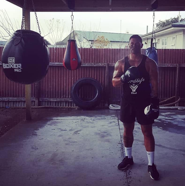 Kireka has turned his life around through fitness. Credit: Facebook/Puk Kireka