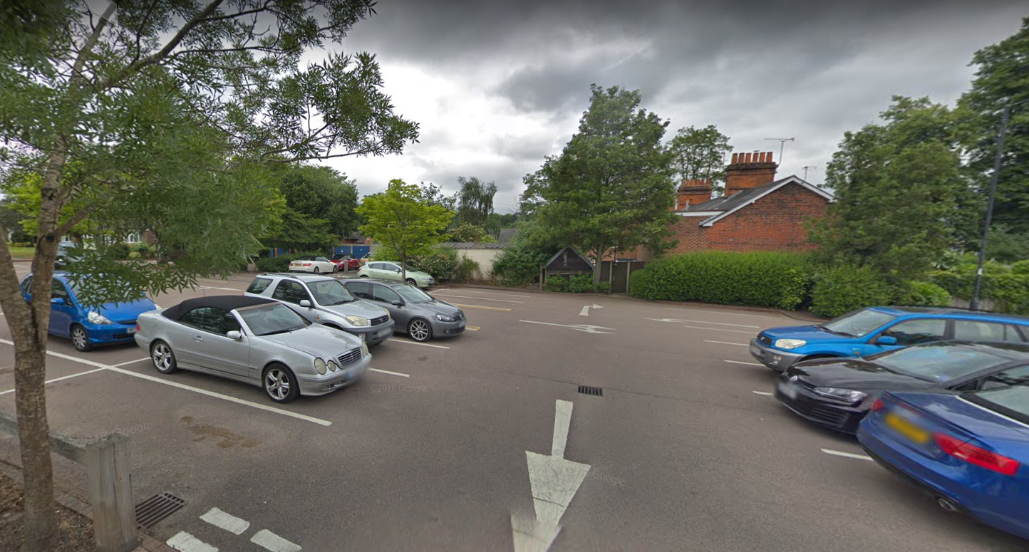 Hartley Wintney Long Stay car park. Credit: Google Maps