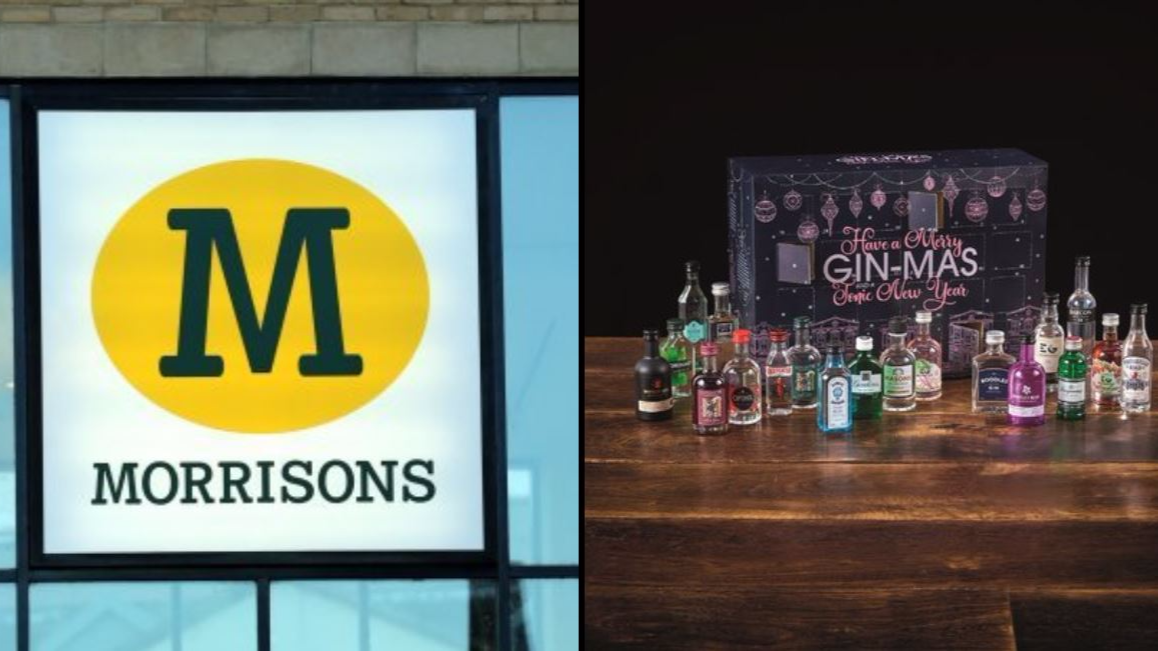 Morrisons' Gin Advent Calendar Offers The Perfect Countdown to Christmas