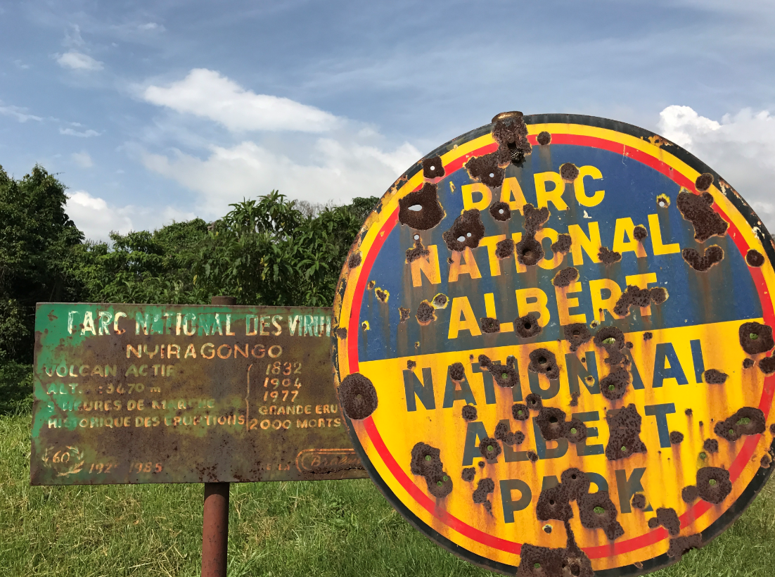 Virunga National Park, which was previously known as Albert National Park. Credit: PA