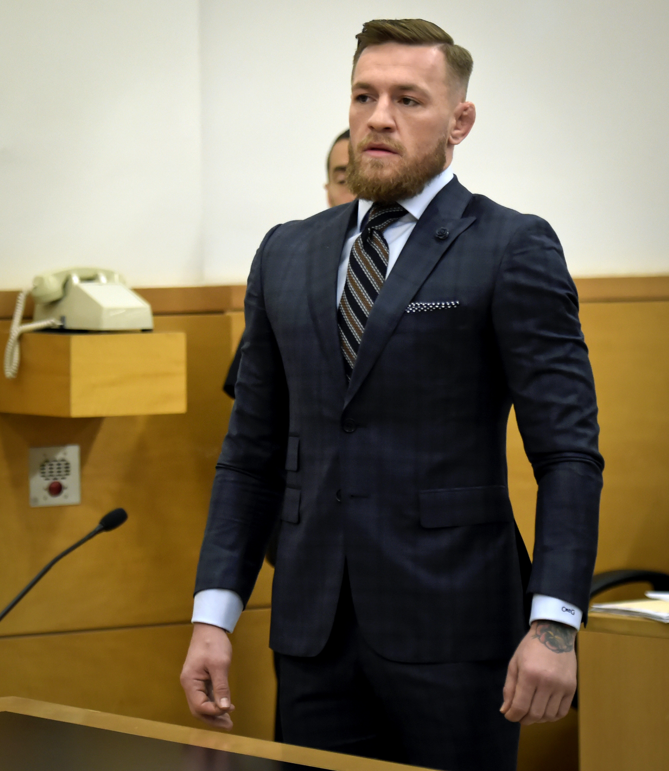 Conor McGregor in plea negotiations after melee
