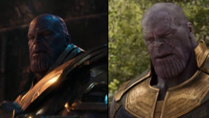 fan reckons thanos hair grows during avengers infinity