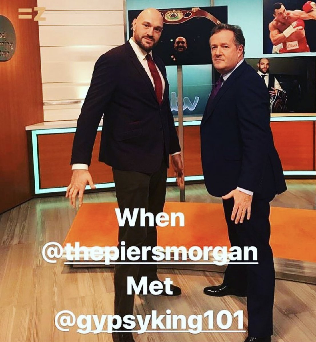 Tyson Fury Hilariously Squares Up To Piers Morgan On Good
