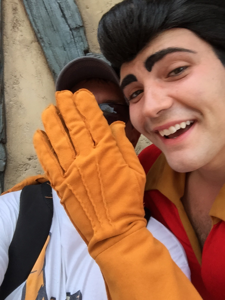 I asked Gaston for a selfie...