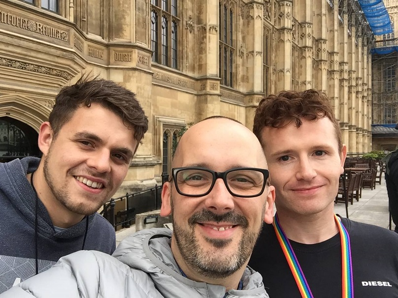 After struggling to come to terms with what happened, Sam eventually sought help and now works as an ambassador for Survivors Manchester. Credit: Sam Thompson