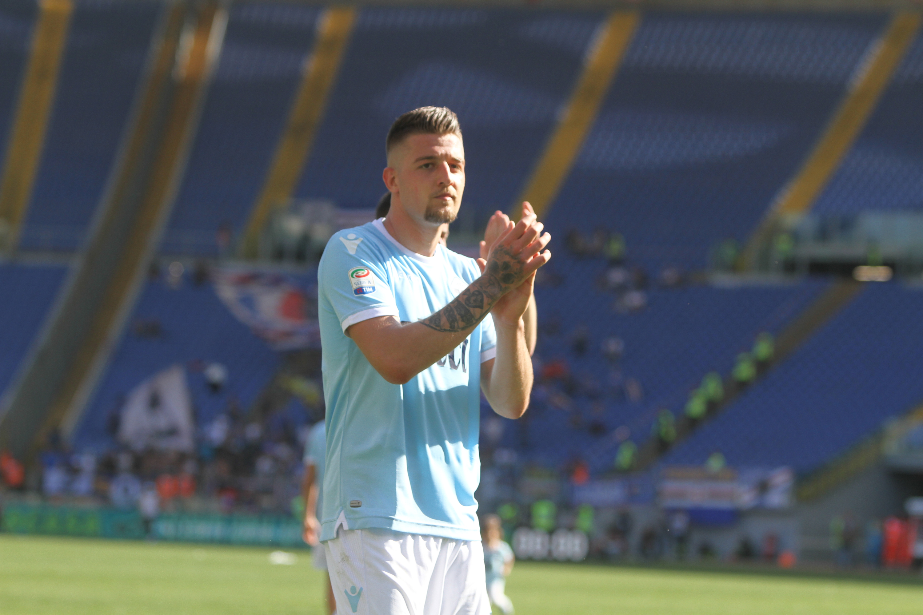 Sergej Milinkovic-Savic: 'I'm focused on Lazio'
