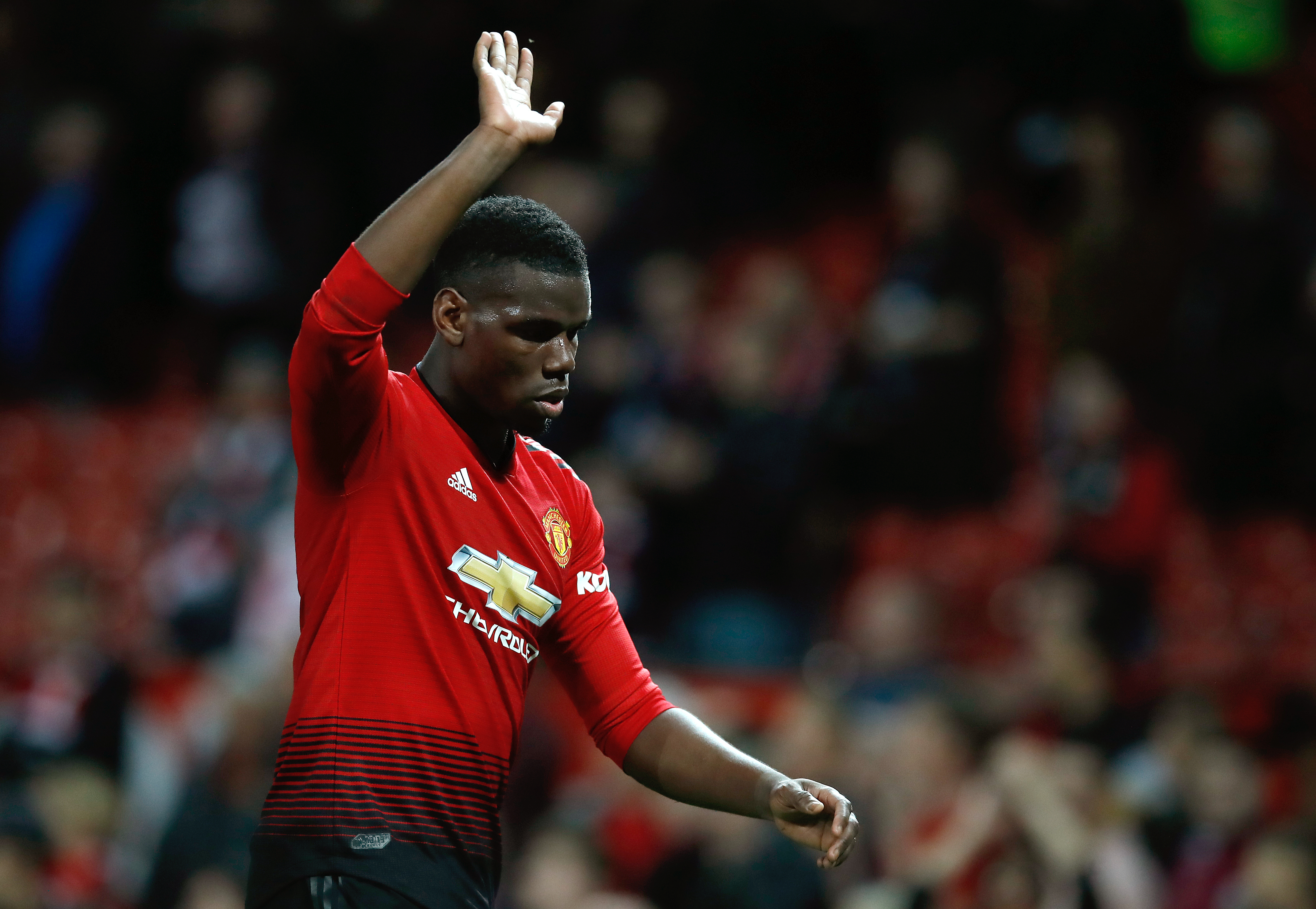 Pogba could be off in the summer. Image: PA Images
