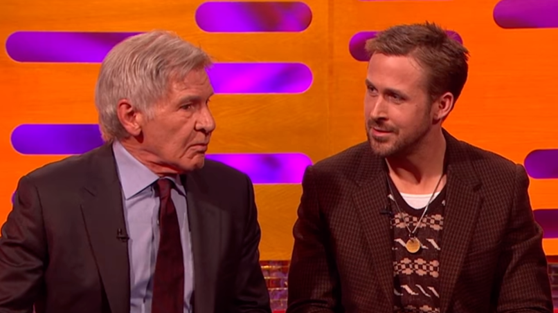 Want To See The Moment Harrison Ford Punched Ryan Gosling In The Face?