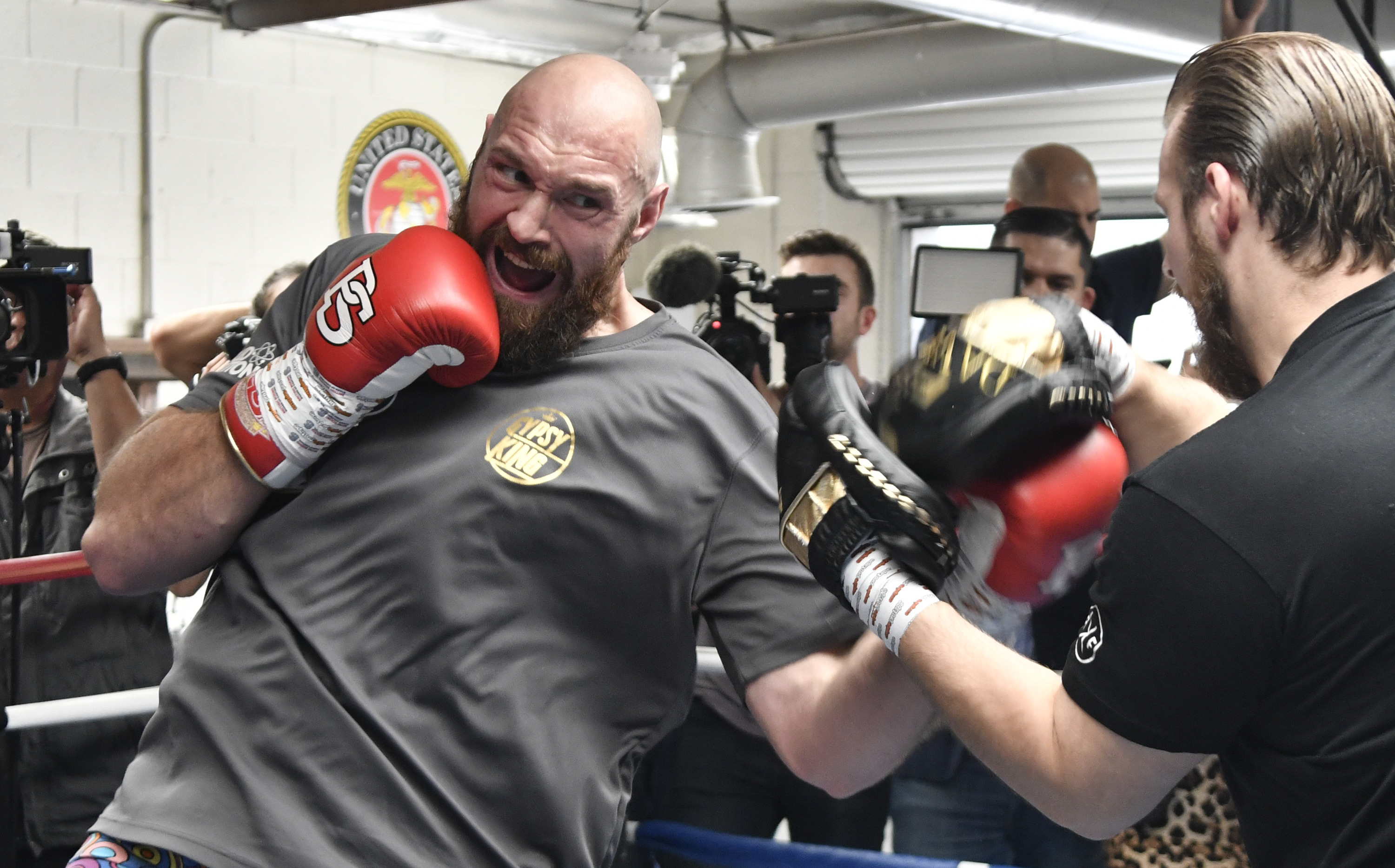 Tyson Fury will take on Deontay Wilder for the WBC heavyweight belt on December 1st in Los Angeles. Credit: PA