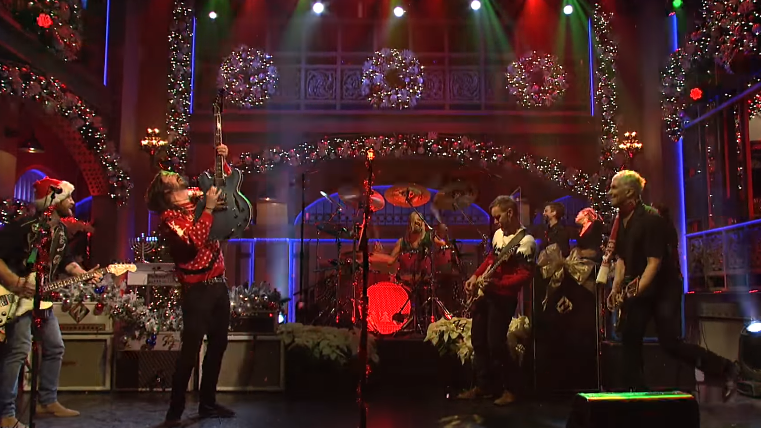 Foo Fighters 'SNL' Performance Will Become Your New Christmas Anthem