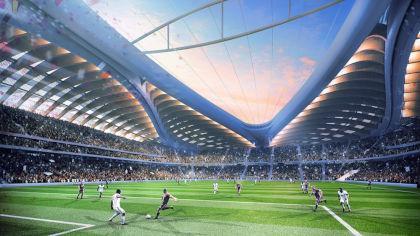 Al Wakrah stadium will host the 2022 World Cup. Credit: Wikipedia