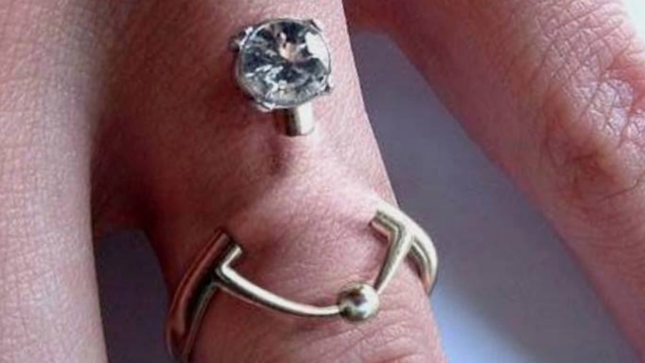 You Can Now Get A Hand Piercing Instead Of A Wedding Ring
