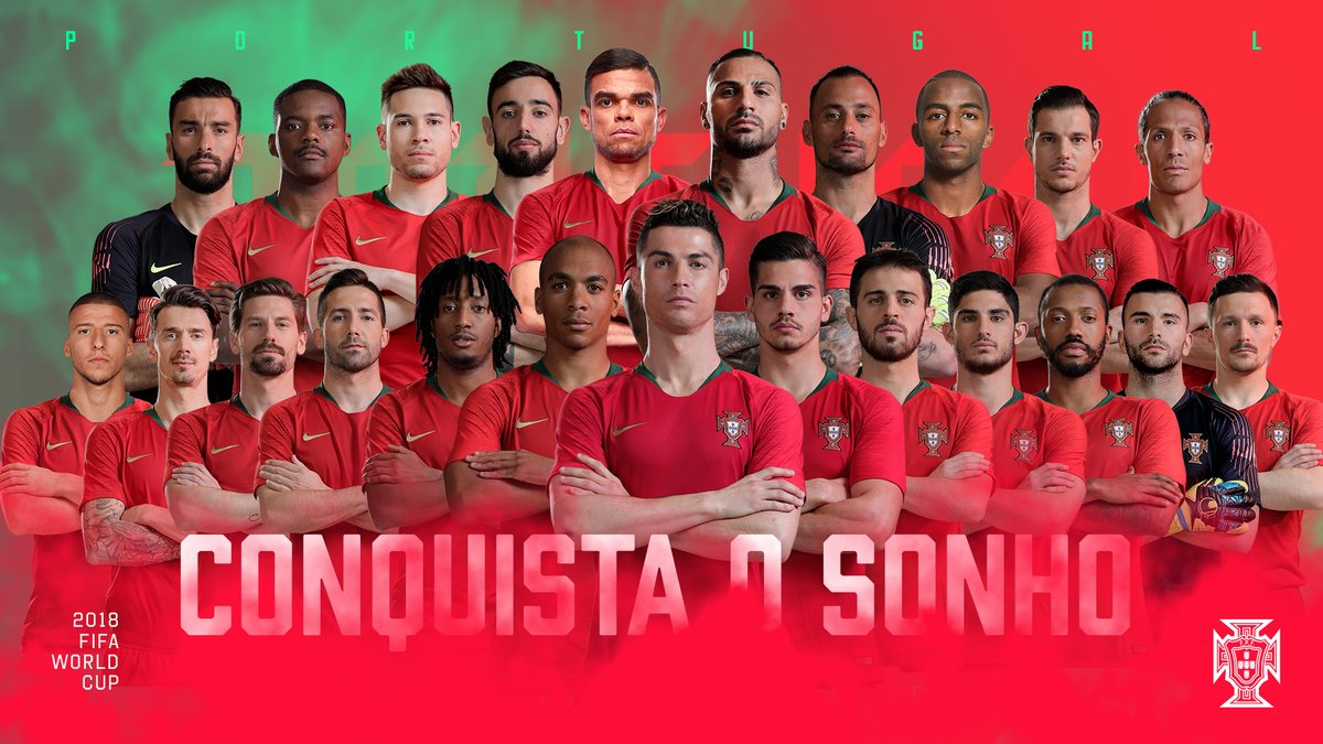 Ronaldo in, Sanches out of Portugal WC squad