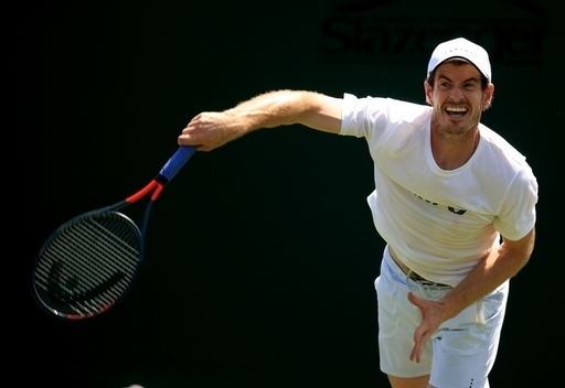 Andy Murray is returning five months after a hip operation. Credit: PA