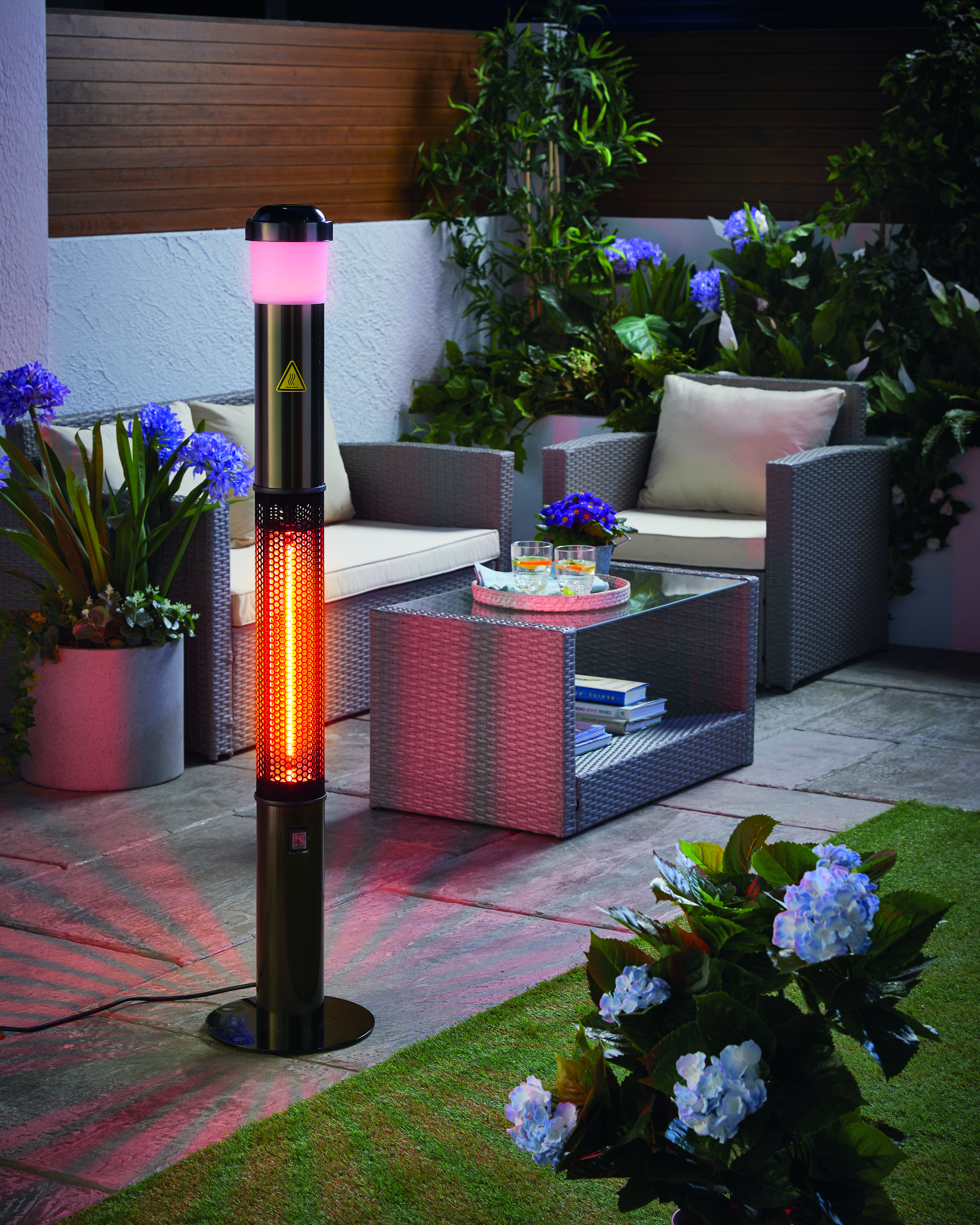 This patio heater is only £99.99 from Aldi. Credit: Aldi