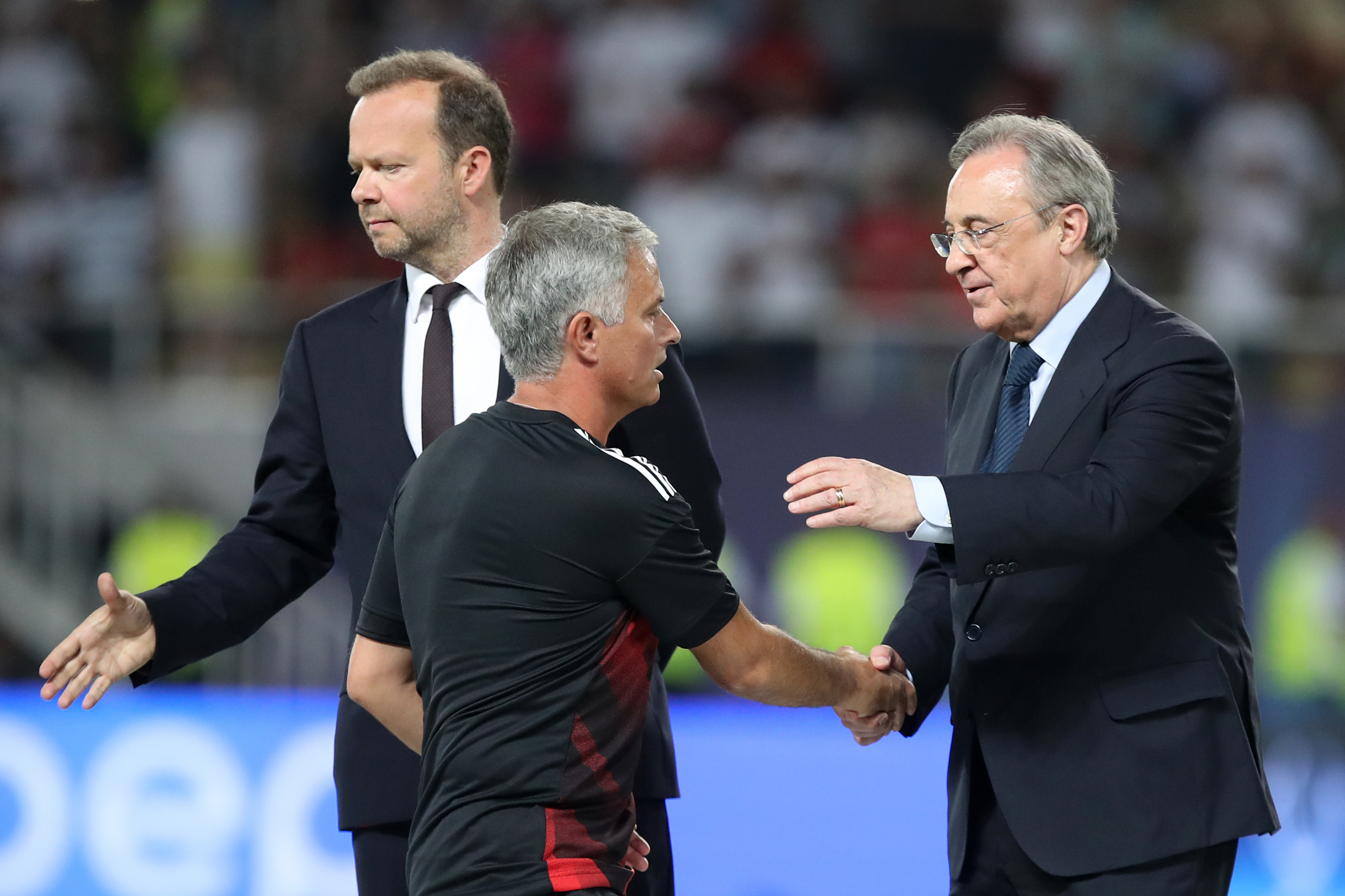 Mourinho has a good relationship with Perez. Image: PA Images