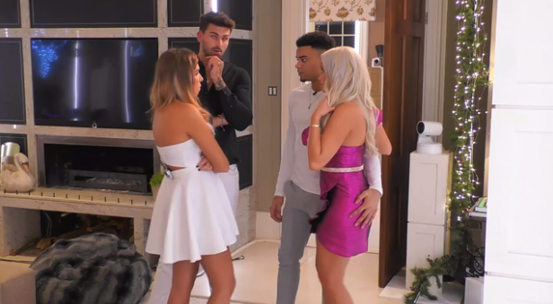 Adam, Zara, Wes and Megan decided to intervene. (Credit: ITV)