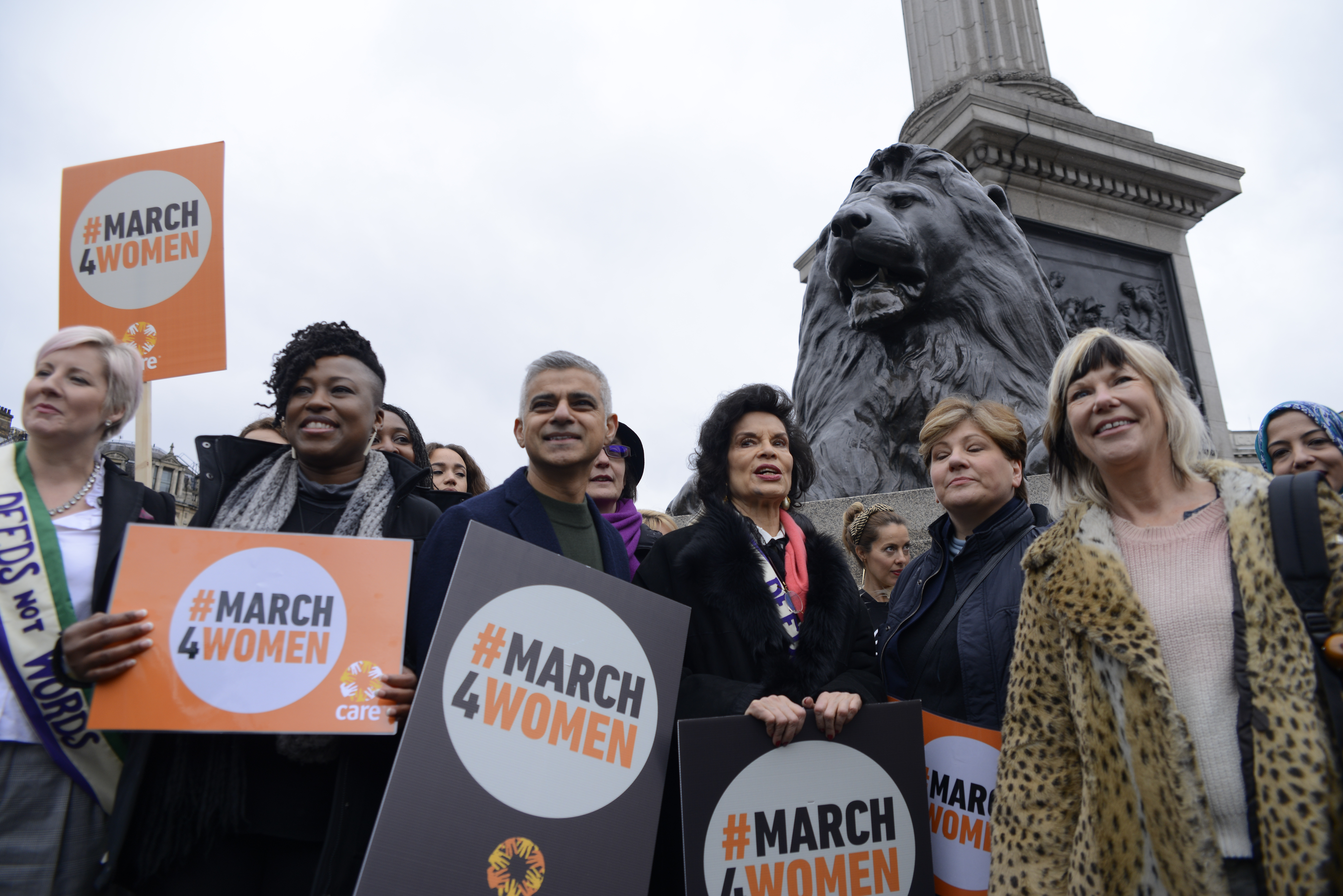 #March4Rally in London earlier this year. Credit: PA Images