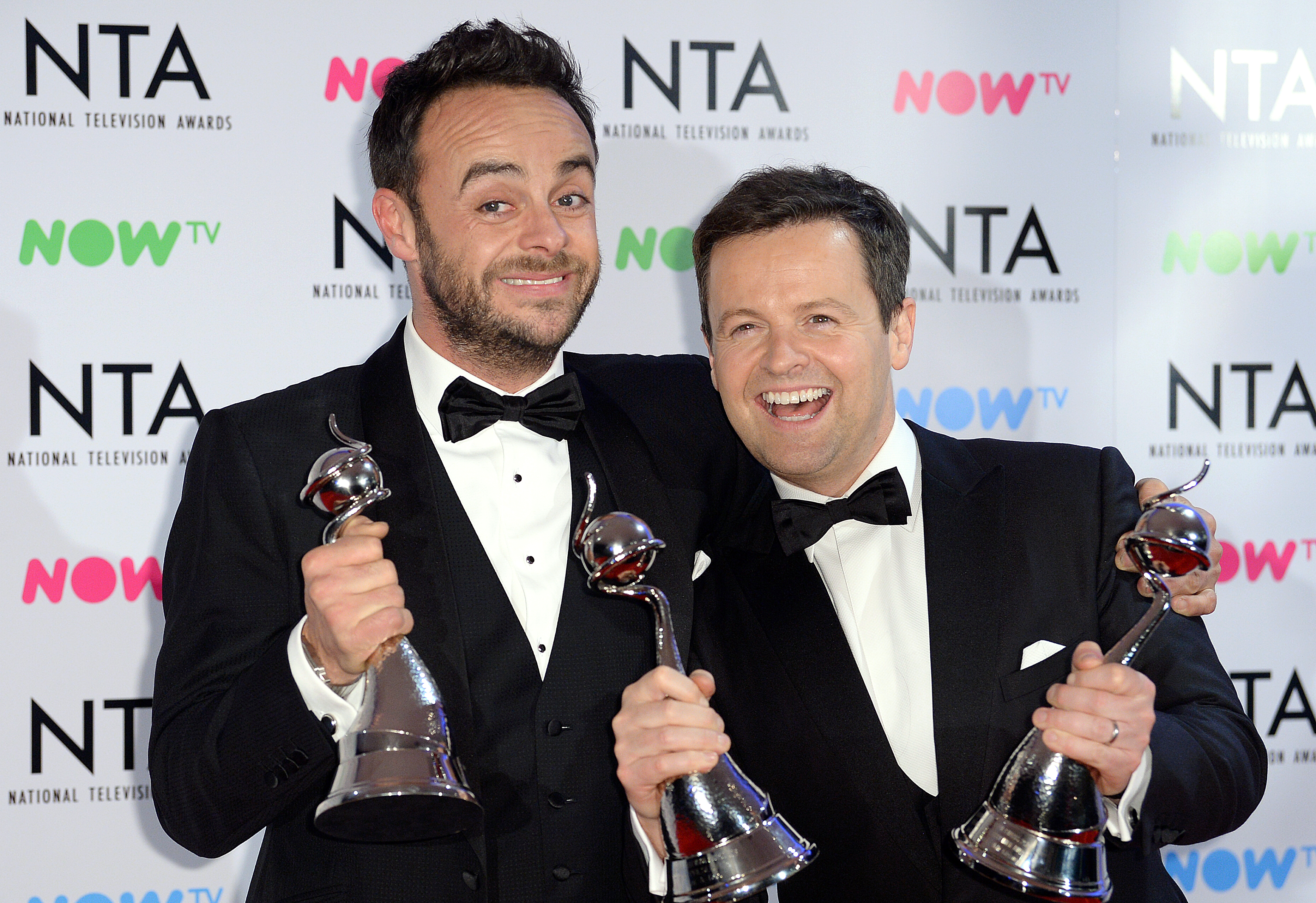 Ant and Dec. Credit: PA