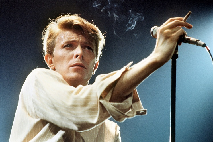 David Bowie performing in 1979. Credit: PA