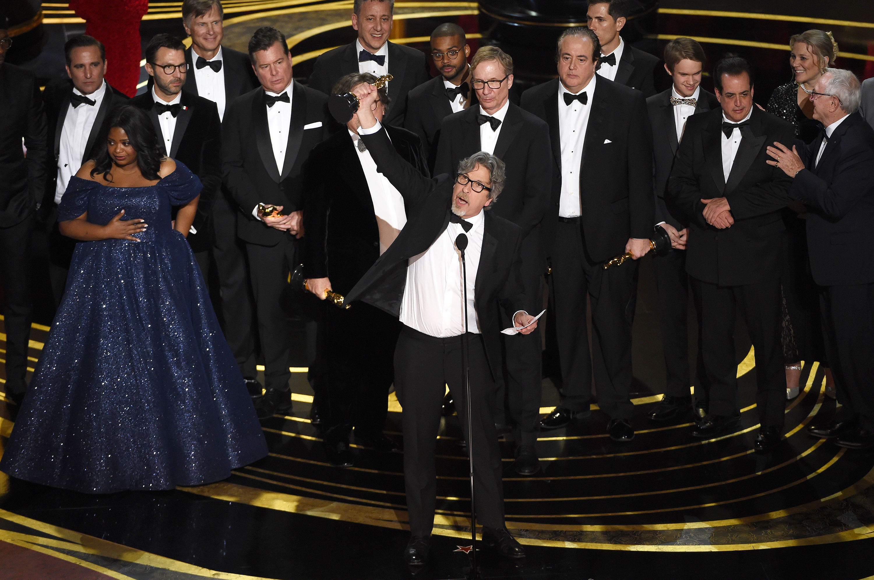 Green Book won Best Picture at the Oscars. Credit: PA