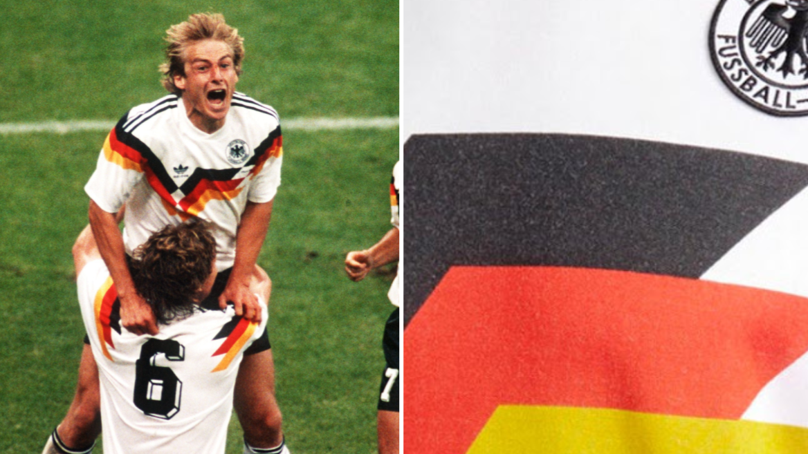 Adidas Have Brought Out A Germany 1990 Replica Jersey And It s Beautiful 369f53255