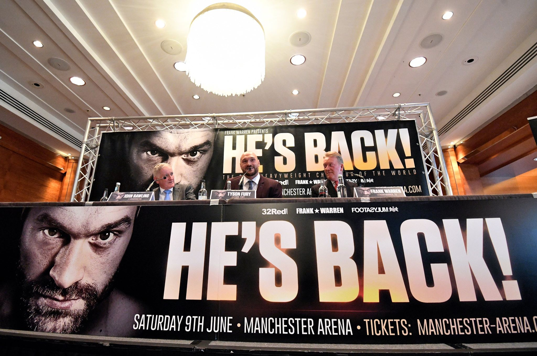 'Do you want some?': Wealdstone Raider crashes Tyson Fury presser