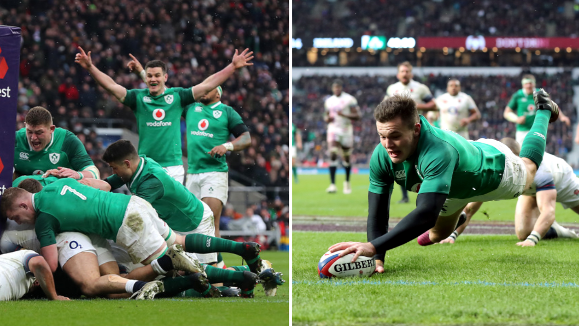 Ireland Beat England On St Patrick's Day To Confirm Six Nations Grand Slam