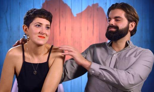 You, Me, and the Big C co-host Lauren Mahon was friend-zoned by her date Pat. (Credit: Channel 4)